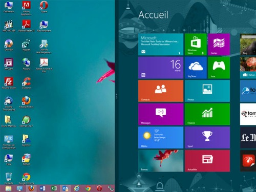 Windows8.1-Double écran