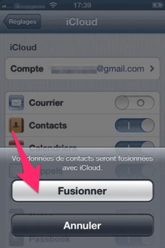 autoriser iphone sur itunes