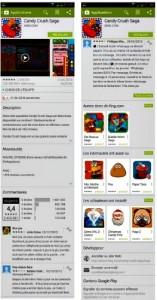 Description d'une application sur Play Store