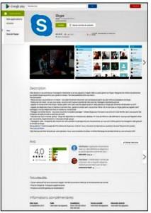 Lisez la page de description sur Google Play Store avant de charger une application.