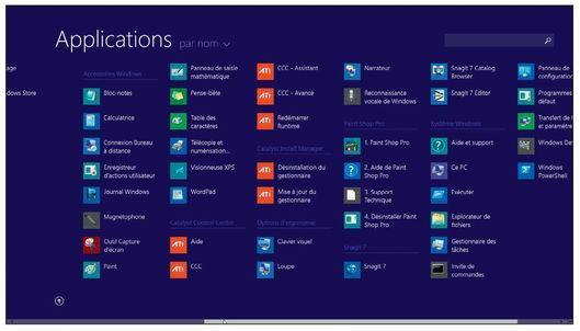 Windows 8.1 contient quatorze accessoires