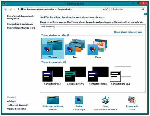 Tutoriel windows 8 1 personnaliser le bureau for Fenetre windows 8