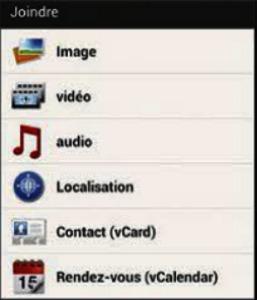 Ajouter un fichier MP3 à votre envoi