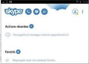 Connectez-vous et appelez avec Skype