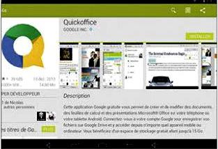 Comment installer quickoffice sur tablette la r ponse est sur - Comment installer office sur mac ...