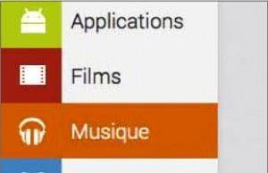 Se Connecter au compte Google play musique