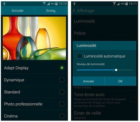 probleme luminosite ordinateur portable samsung