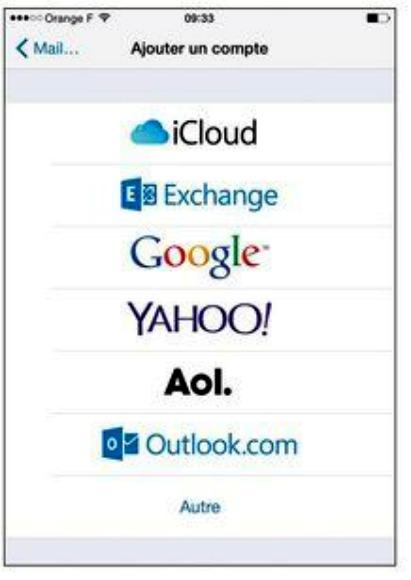 <b>Configurer</b> une adresse mail Free <b>sur</b> ipad ou <b>iphone</b> ...