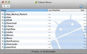 Accéder à vos fichiers depuis un Mac