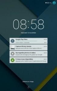 Décidez de ce qui apparaîtra sur l'écran de verrouillage d'Android