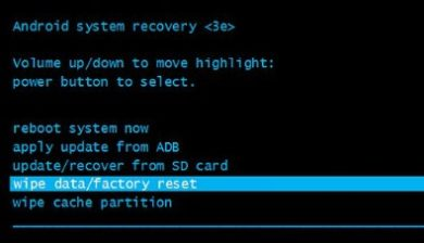 Recovery-reset-android