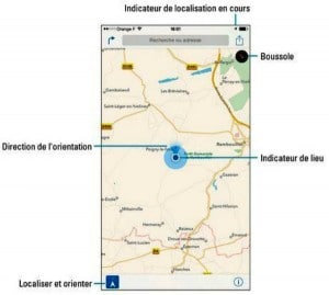 L'application Plans vous oriente