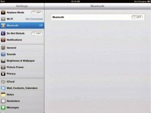 Activer le Bluetooth sur iphone 6