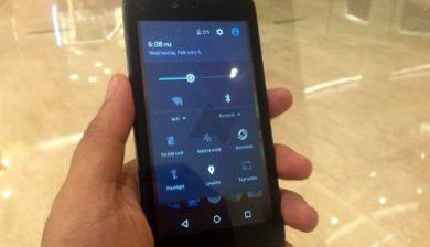 La barre de réglages rapides du Samsung Galaxy Note 4