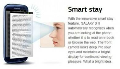 Smart-stay Samsung Galaxy Note 4