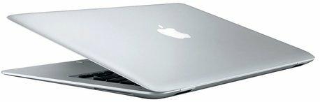 Admirez l'élégance du MacBook Air