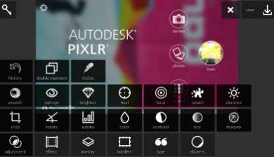 Autodesk Pixlr pour Android