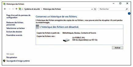 historique notifications windows 10