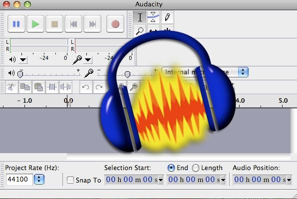 Logiciel de musique audacity
