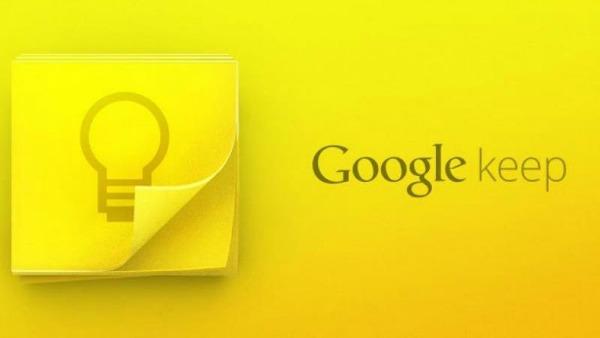 Prise de note avec Google-keep