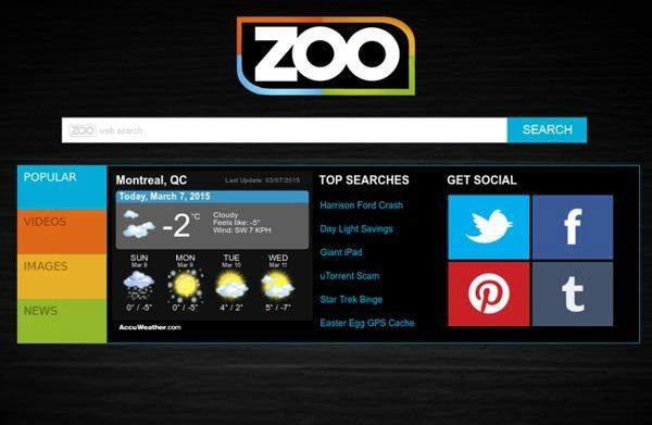 Image représentant le méta moteur de recherche zoo