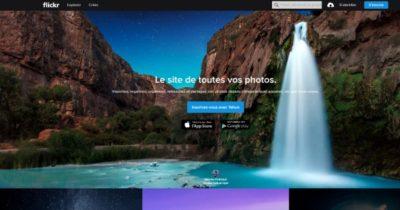 Flickr est un service cloud qui permet de stocker des photos