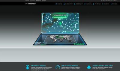 Speedtest est un site web et une application mobile pour tester ses débits réels de connexion web