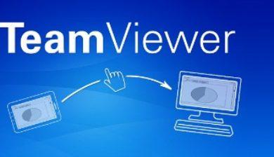 l'application TeamViewer