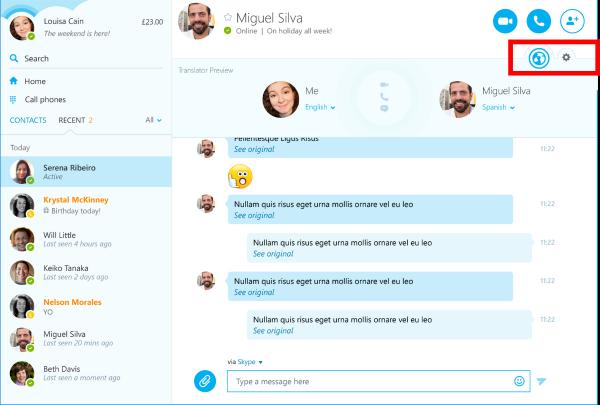 Converser à plusieurs sur Skype