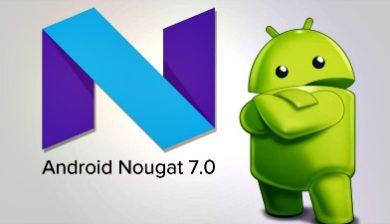 Logo Android 7 nougat image à la une