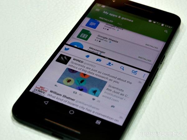 De nombreuses nouveaut s pour android 7 0 nougat for Multi fenetre android