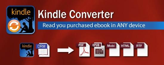Le logiciel Kindle converter