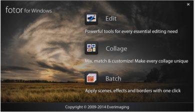 fotor-logiciel de retouche d'images