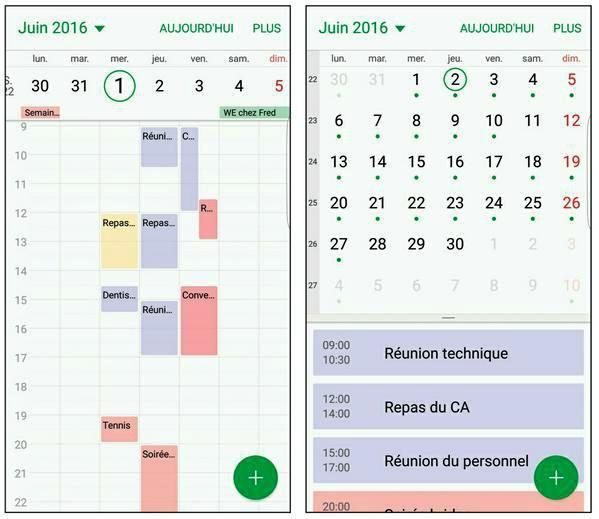 Calendrier Samsung S7.Tutoriel Du Samsung Galaxy S7 Gerez Vos Agendas Avec L