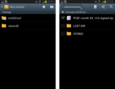 Galaxy note 10.1 SDCard