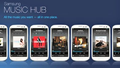 Music-Hub-Samsung de la tablette Galaxy note10.1