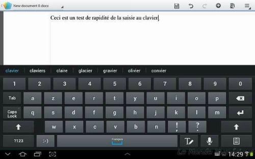 Tuto tablette galaxy note 10 1 ma trisez le clavier virtuel for Les parties du clavier