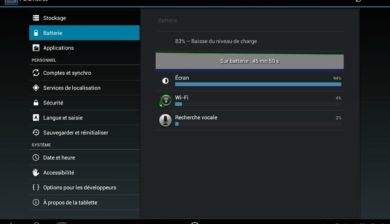 android-batterie