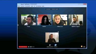 organiser une visioconférence sur skype