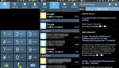 gérer les contacts du Galaxy S4