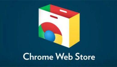 Chrome web store-Une