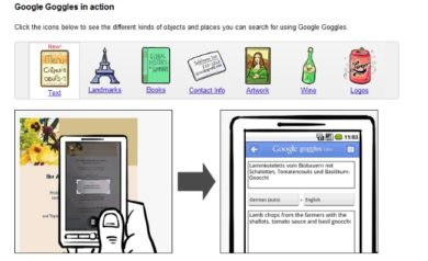 Google-Goggles-Types-of-Searches