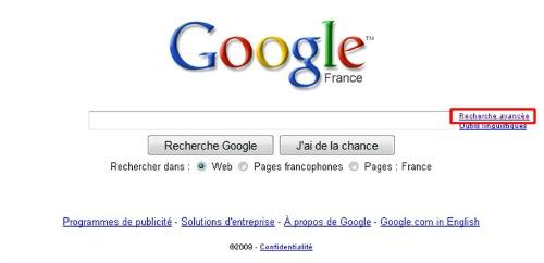 google-recherche-avancée