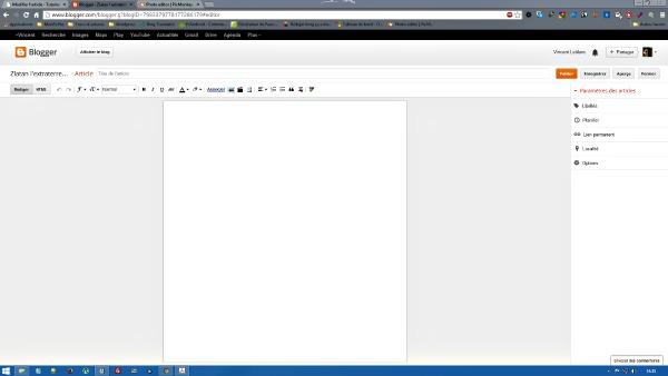 rédiger un article
