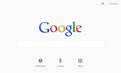 recherche sur google Now