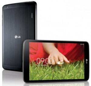La tablette lg-g-pad-8-3