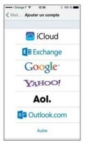 ajouter un compte mail