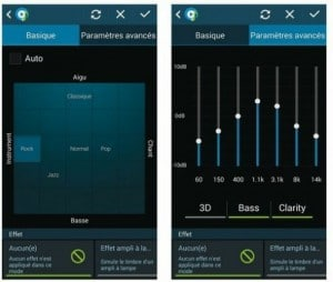 Sélectionner ou configurer le mode de restitution du son