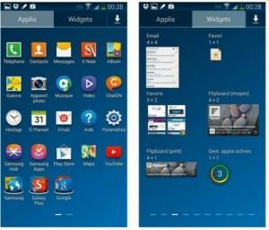 applis et widgets
