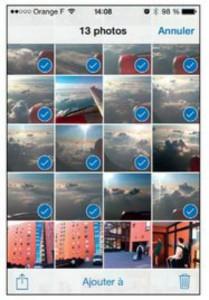 supprimer des photos, des albums ou des vidéos